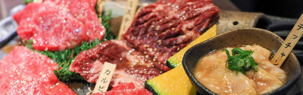 焼肉屋さんのお肉の画像